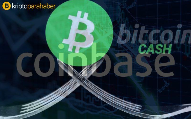 Coinbase, Bitcoin Cash (BCH) hard forku için desteğini açıkladı